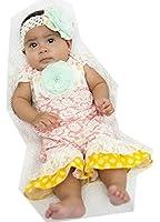 Amazon Peaches n Cream Baby Girls e Piece Stripe