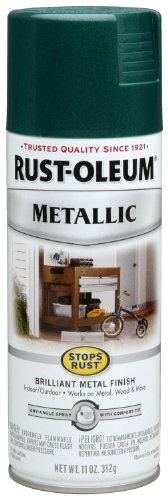 Rust-Oleum 7252830 Metallic Spray, Racing Green, 11-Ounce (Green Metallic Paint compare prices)