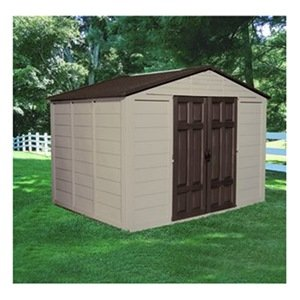 Suncast Corporation A01B21C02 10 x 7.5 ft. 474 Cubic Feet Capacity Outdoor Storage Building