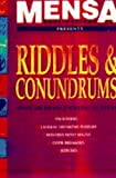 Mensa Riddles and Conundrums (Mensa) (0091808243) by Allen, Robert