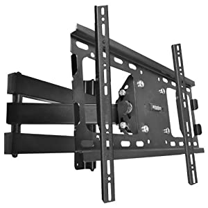 The Best  Robust 37″-63″ Inch Hd Tv Lcd Led 3d Wall Mount Bracket Vesa 600×400 Tilt Swivel- Supports Up to 45kgs