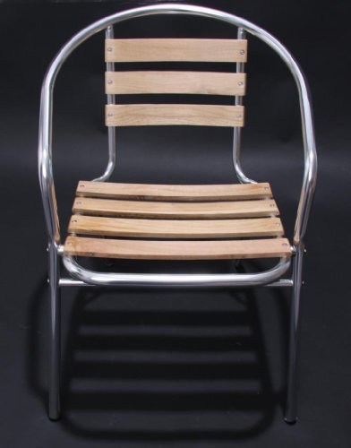 heute wohnen bistrostuhl gartenstuhl stuhl alu holz nur. Black Bedroom Furniture Sets. Home Design Ideas
