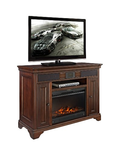 E-Ready Granville Audio Tv Stand With Fireplace, 48-Inch