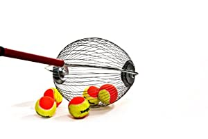 Tennis Ball Wizard - Saves All That Bending - tennis ball pick up tool - perfect gift by PickUpTheBalls