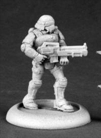 Reaper Miniatures 50183 Chrono Nova Corp Rifleman - 1