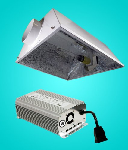 New 600 Watt HPS + MH Digital Grow Light W/ 6