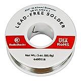 RadioShack SnCu 99.3/0.7 Lead-Free Solder, 0.032
