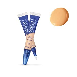 Rimmel Match Perfection 2-in-1 Concealer and Highlighter, Fair Light