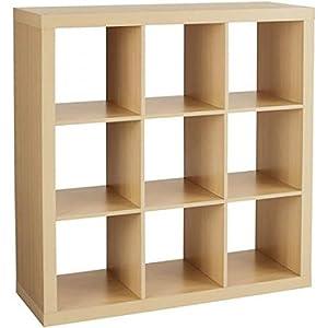 Better Homes And Gardens 9 Cube Organizer Storage Bookcase Bookshelf Cabinet Divider