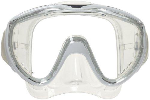 Scubapro Flux Mask for Scuba Diving or Snorkeling (White)