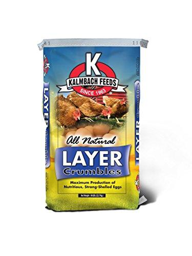 Kalmbach Feeds Hi Omega All Natural Layer Crumbles, 50 lb