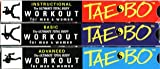 Billy Blanks Ultimate Tae-Bo Total Body Workout For Men And Women [Set of 3 VHS Tapes: Instructional, Basic & Advanced]