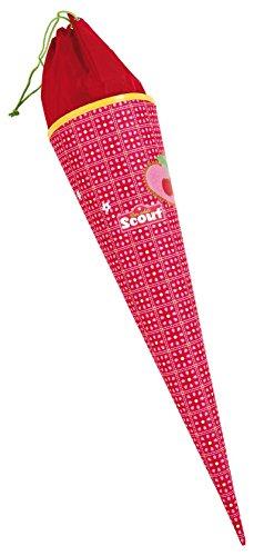 Scout 47270097200-Basic escolar Bolsa Diseño Sweet Cherry, color rojo