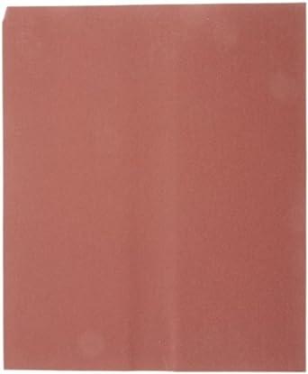Norton K227 Metalite Lightning Abrasive Sheet, Cloth Backing, Aluminum Oxide, Grit P320  (Pack of 50)
