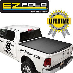 Bestop 16212-01 EZ Fold Truck Tonneau Cover for Chevy Silverado/GMC Crew Cab, 5.8' Bed, w/o bed management system 2007-2016 (2012 Chevy Truck compare prices)