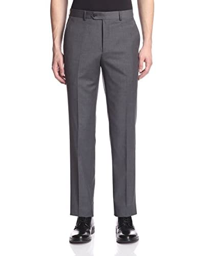 London Fog Men's Solid Wool Dress Pant