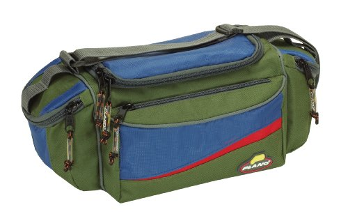 Plano Compact Bag with Three 3500 Stowaways (Green/Blue)