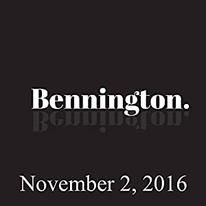 Bennington, Open Mike Eagle, November 2, 2016 Radio/TV Program