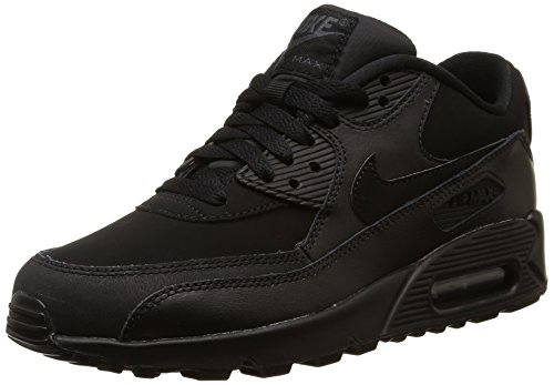 Nike - Scarpe da ginnastica Nike Air Max 90 GS, Unisex - bambino, Colore Nero, Taglia 38