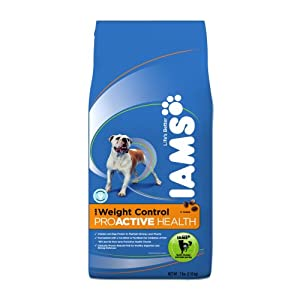 Iams Proactive Health Adult Dog Weight Control Premium Dog Food 7 Lbs (Pack of 2)