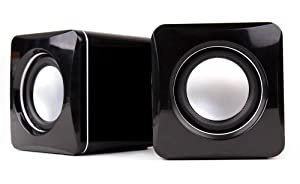 DURAGADGET Mini Portable USB Tablet Speakers For Amazon Kindle Fire, Fire HD (September 2012 Release) And Kindle Fire 2