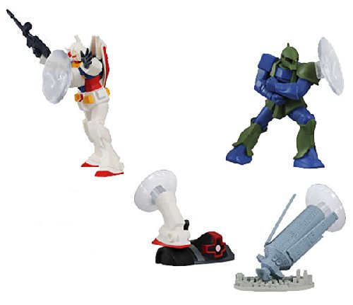 Bandai Mobile Suit Gundam Smart Phone Stand (4pcs Set A)