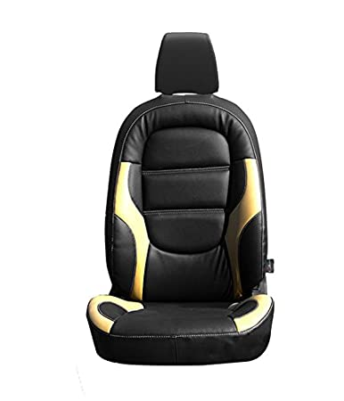 Autofurnish CZ 125 Riva Black Leatherite Seat Covers For