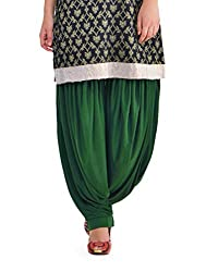 Pietra Green colored Pan Style Dhoti