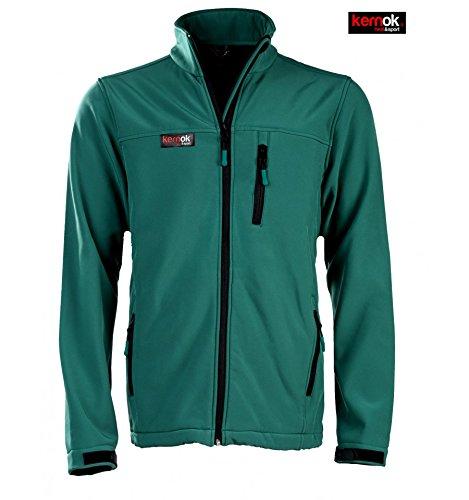 veste-chauffante-soft-shell-homme-vert-l