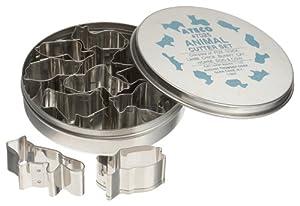 Ateco 10 Piece Animal Cutter Set