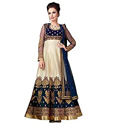 INDO-WESTERN DESIGNER PARTY WEAR ANARKALI SALWAR KAMEEZ SUIT GOWN PARTY WEAR BRIDAL WEDDING