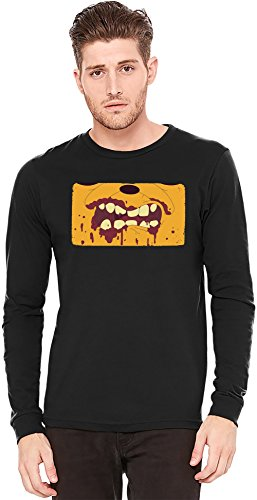 jake-the-dog-t-shirt-manches-longues-long-sleeve-t-shirt-100-preshrunk-jersey-cotton-fashion-x-large