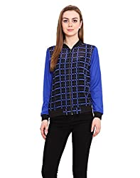 Blink Blue Coloured Georgette Jacket X-Large