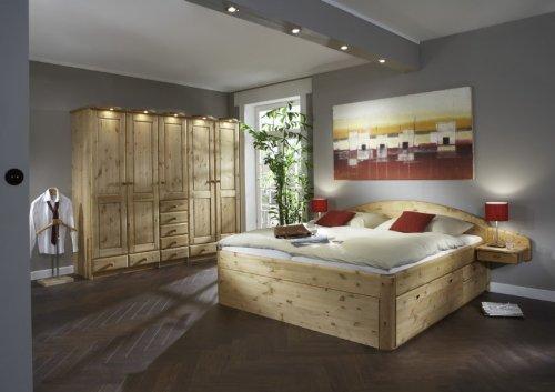 Schlafzimmer komplett Kleiderschrank Bett Magnum 1 Kiefer massiv gelaugt/geölt jetzt kaufen
