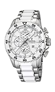 FESTINA Men's Watch Steel and Ceramic Band F16628/1