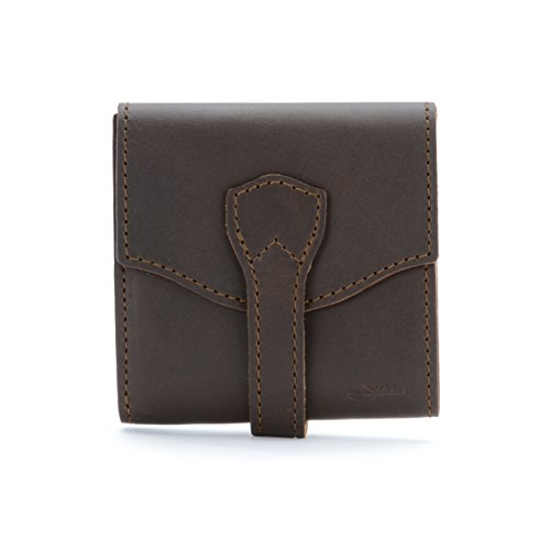 Saddleback Leather Wrap Wallet in Dark Coffee Brown