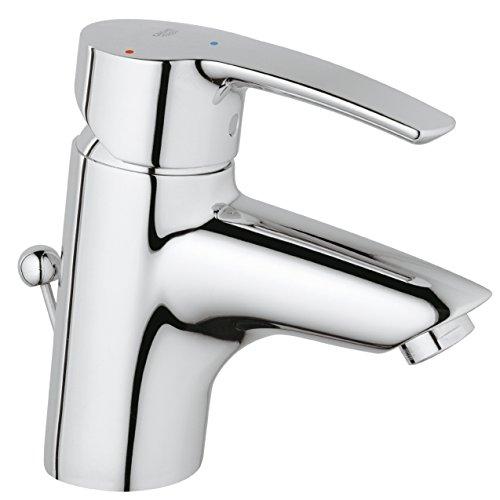 GROHE Eurostyle Waschtischarmatur, Zugstange, Standard-Auslauf ES 2337410E