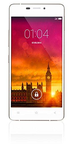 Kazam Tornado 348 Smartphone débloqué 3G (Ecran : 4,8 pouces - 16 Go - Simple SIM - Android 4.4 KitKat) Blanc