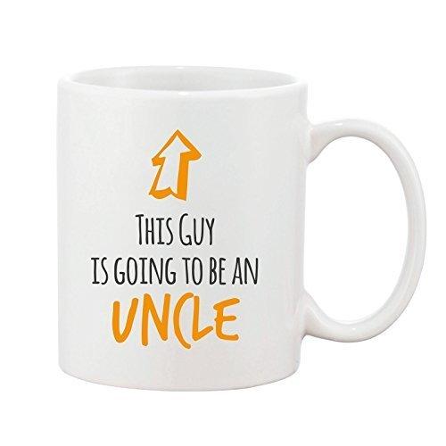 Uncle den Tasse Baby Neuheit Geschenk Tasse Keramik Steingut This Guy Design