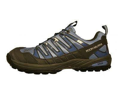 KOOKABURRA Chaussures de Hockey Inca Mixte, Bleu/Noir, 47