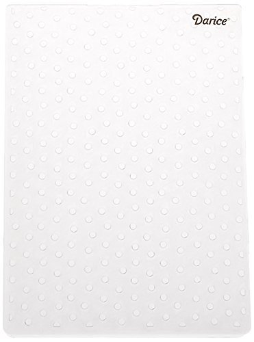 Darice 1217-67 Embossing Folder, 5 by 7-Inch, Dot Background Design (2-Pack) (Tamaño: 2 Pack)