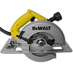 DEWALT DW364 7-1/4-Inch Heavy Duty Circular Saw with Electric Brake and Rear Pivot Depth of Cut Adjustment