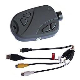 BrightTea® Mini DVR 808 #16 V3 Lens D Car Key Chain Micro Camera HD 720P Pocket Camcorder