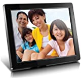 Aluratek 12-Inch ADMPF512F High Resolution Digital Photo Frame with 4 GB Built in Memory