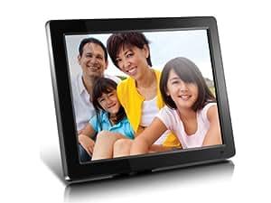 Aluratek 12-Inch ADMPF512F High Resolution Digital Photo Frame with 4 GB Built in Memory