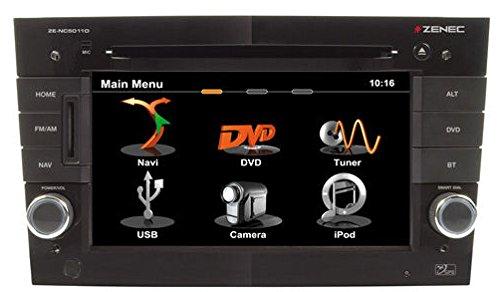 ZE-NC5011 Navigationssystem ( 6.5 Zoll Display,starrer Monitor, 16:9,Kontinent )