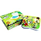 ToyMart Study Game Kids Mini Laptop English Learner Study Game Computer Notebook Toy (BEN-10)