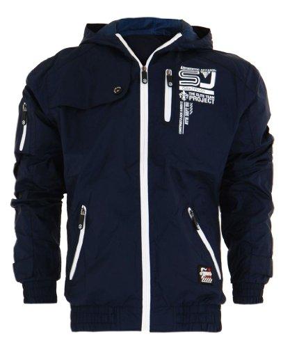 Mens Smith & Jones Waterproof Windbreaker Jacket