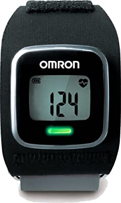 Omron Hr-500u Continuous Strapless Heart Rate Monitor With Web Connectivity Black