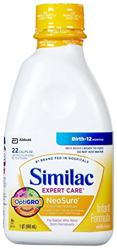 Similac Expert Care Neosure Baby Formula - Ready to Feed - 32 fl oz - 6 pk - 1